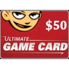 التيمت جيم كارد 50 دولار