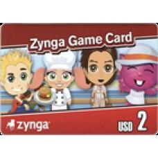 زينجا كارد 2 دولار